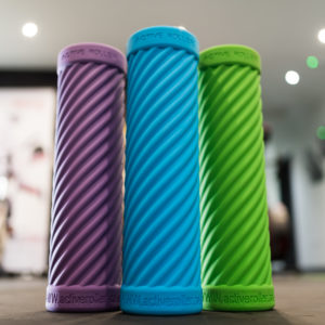 FJ Active Foam Roller which features a helix profile to help flush out lactic acid build up.