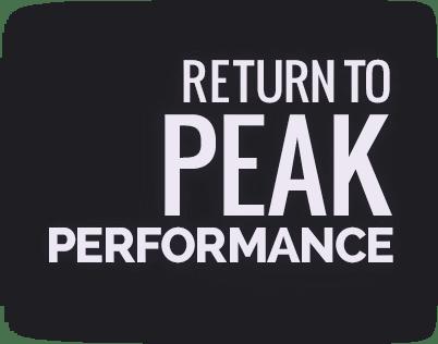 Return-to peak performance