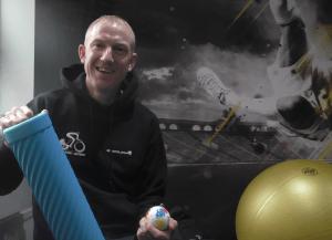 Matt Bpttrill loves his Active Foam Roller