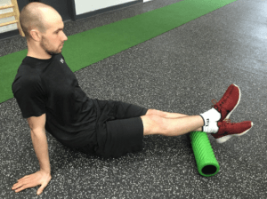 Calf on Active Roller