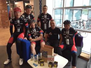 Bottrill riders at Giant for One Percenters course