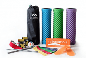 Full Active Kit Range: foam rollers, bands, Sport Tape, Active balls