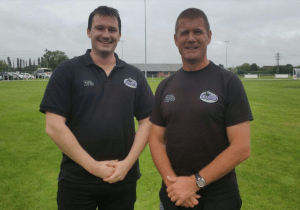 Function Jigsaw's Luke Testar and Andy Key at Leicester Lions