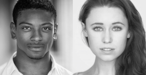 Dex Lee and Jessica Paul will play Danny and Sandy in Grease at The Curve Theatre