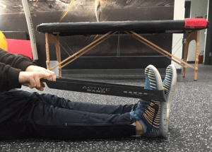 Ankle mobility with an Active band