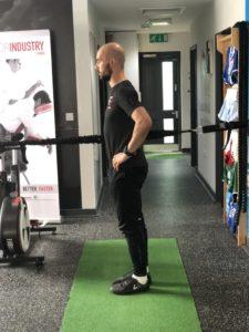 hurdle lunge step 3