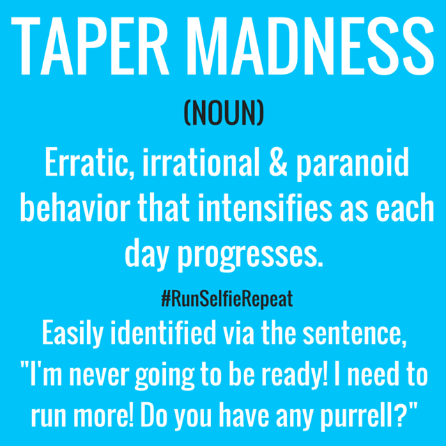 tapering meaning